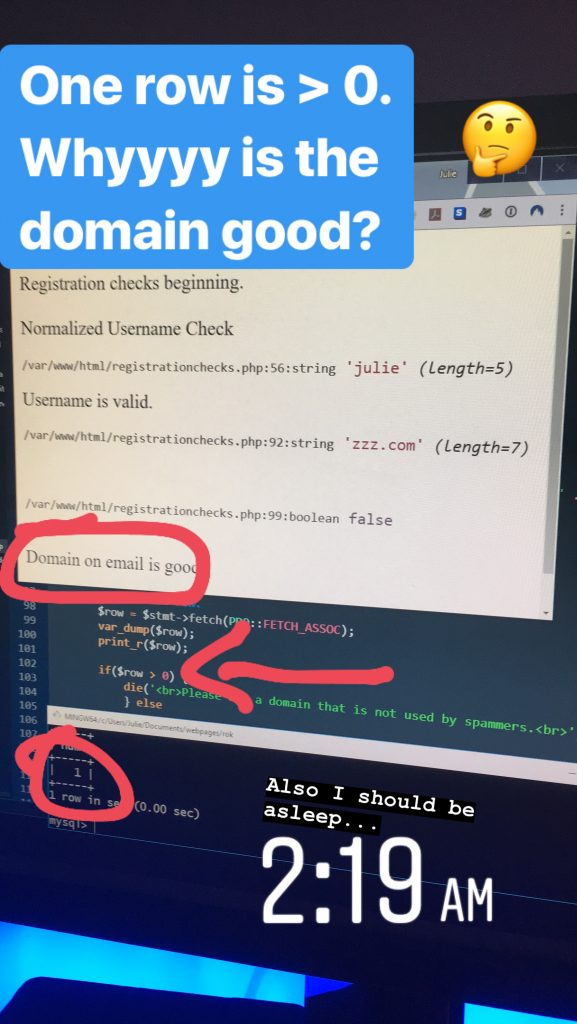 Domain on email is good. But why?