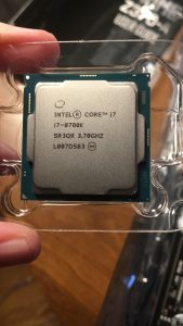 Image of the CPU.